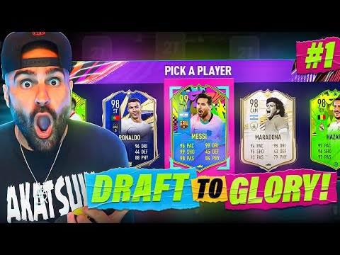 OMG THE GREATEST DRAFT EVER!!! *NEW SERIES* DRAFT TO GLORY!! #01 Fifa 21 Ultimate Team