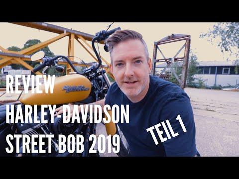 Ein objektives🤓 Review der Harley-Davidson Street Bob 2019 - Teil 1/2