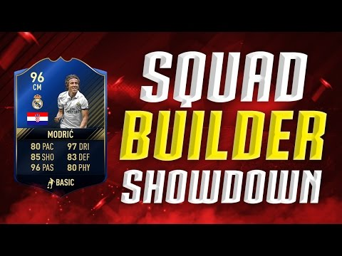 FIFA 17: OMG TOTY MODRIC SQUADBUILDER SHOWDOWN! ⛔⚽ NEUE SERIE VS TISI SCHUBECH|ULTIMATE TEAM DEUTSCH