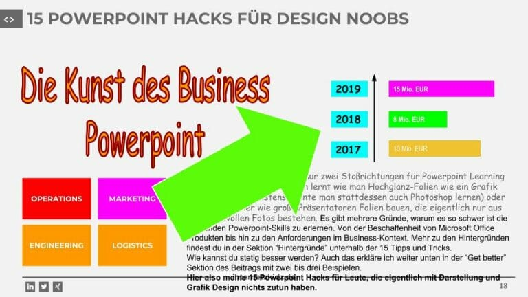 15 POWERPOINT HACKS FÜR DESIGN NOOBS