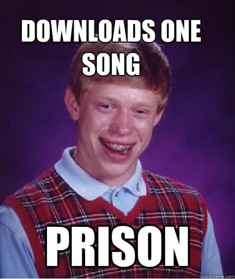 Bad Luck Brian - Downloads 1 song prison