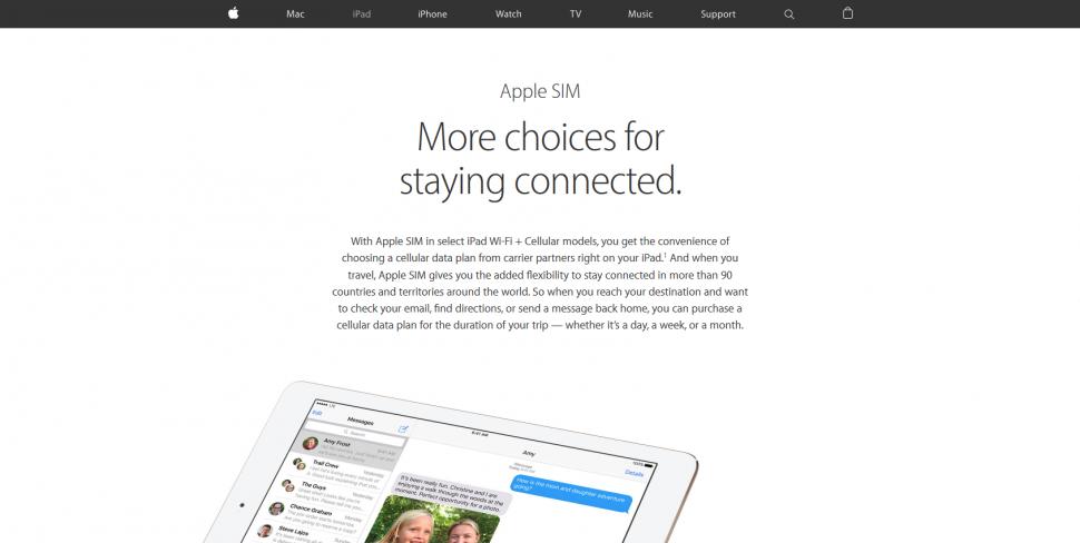 Apple-SIM-esim Angebot