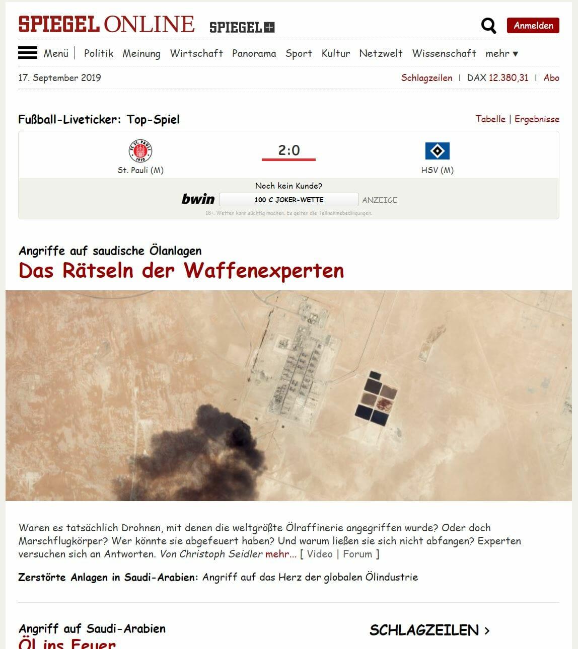 Spiegel Online Comic Sans MS
