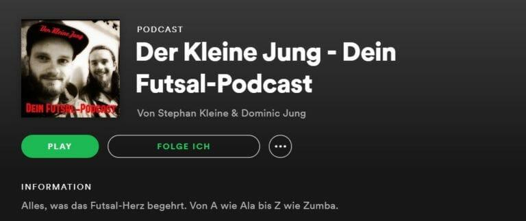 Der kleine Jung Futsal Podcast