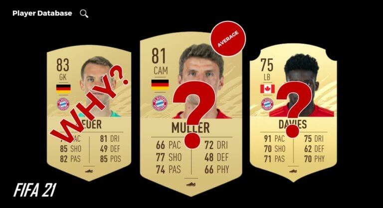 Darum FIFA 21 Bayern Ratings