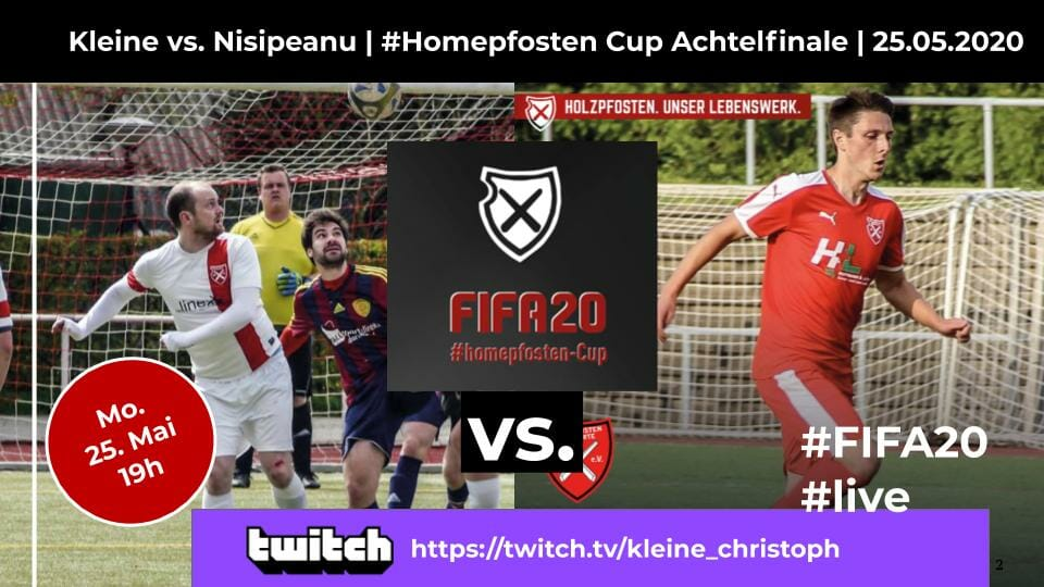 Homepfosten Cup Achtelfinale