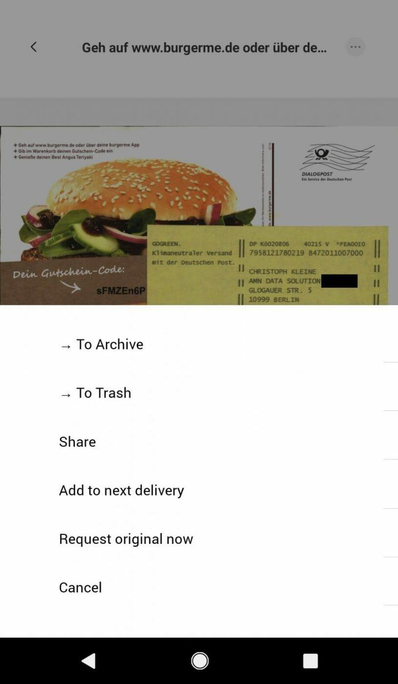 Inbox Management CAYA