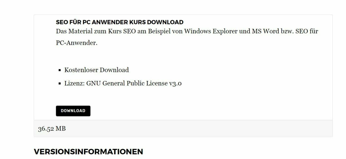 Download Kursmaterial
