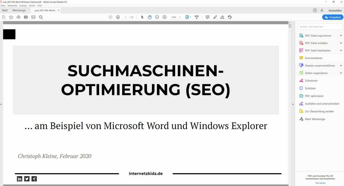 pdf Präsentation