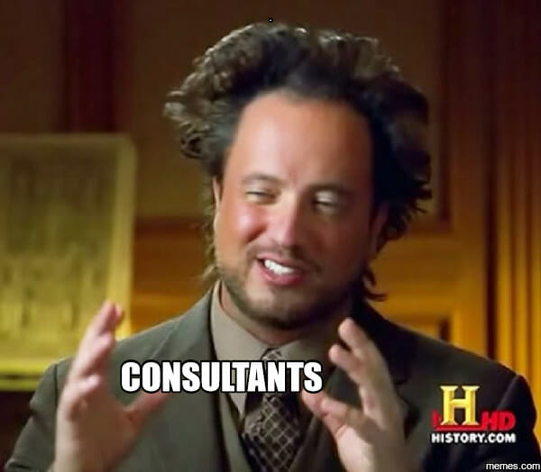 Consultants Ancient Aliens Meme
