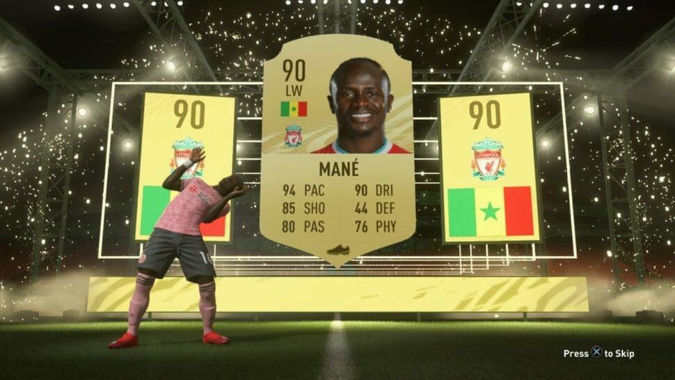 Mane FIFA21 Pack Pull