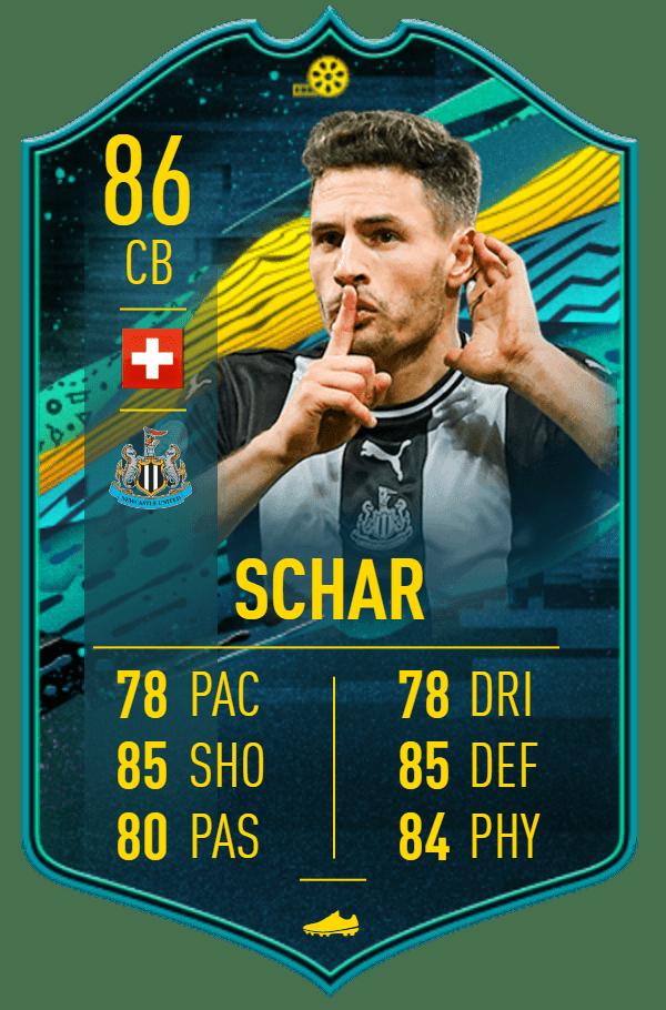 Fabian Schär 86 FIFA20