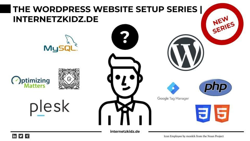 Die Website Setup Series