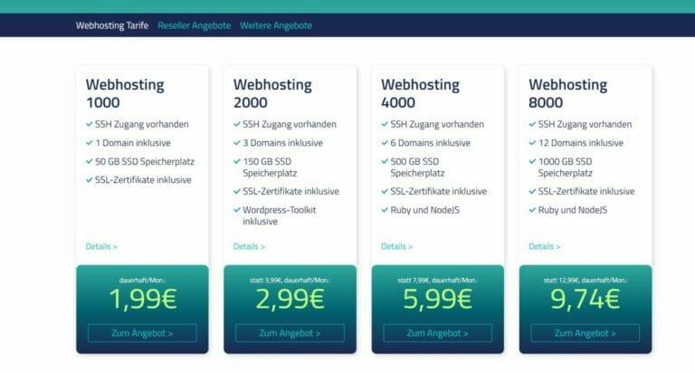Domain und Hosting