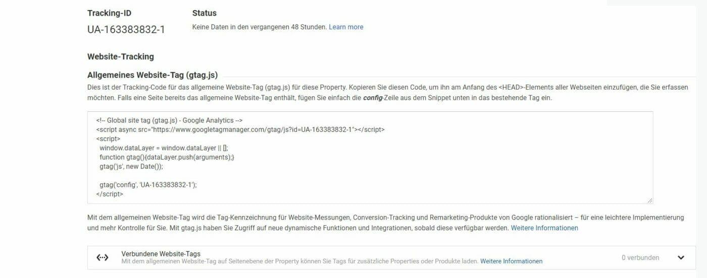 Google Analytics: Werbefunktionen deaktivieren