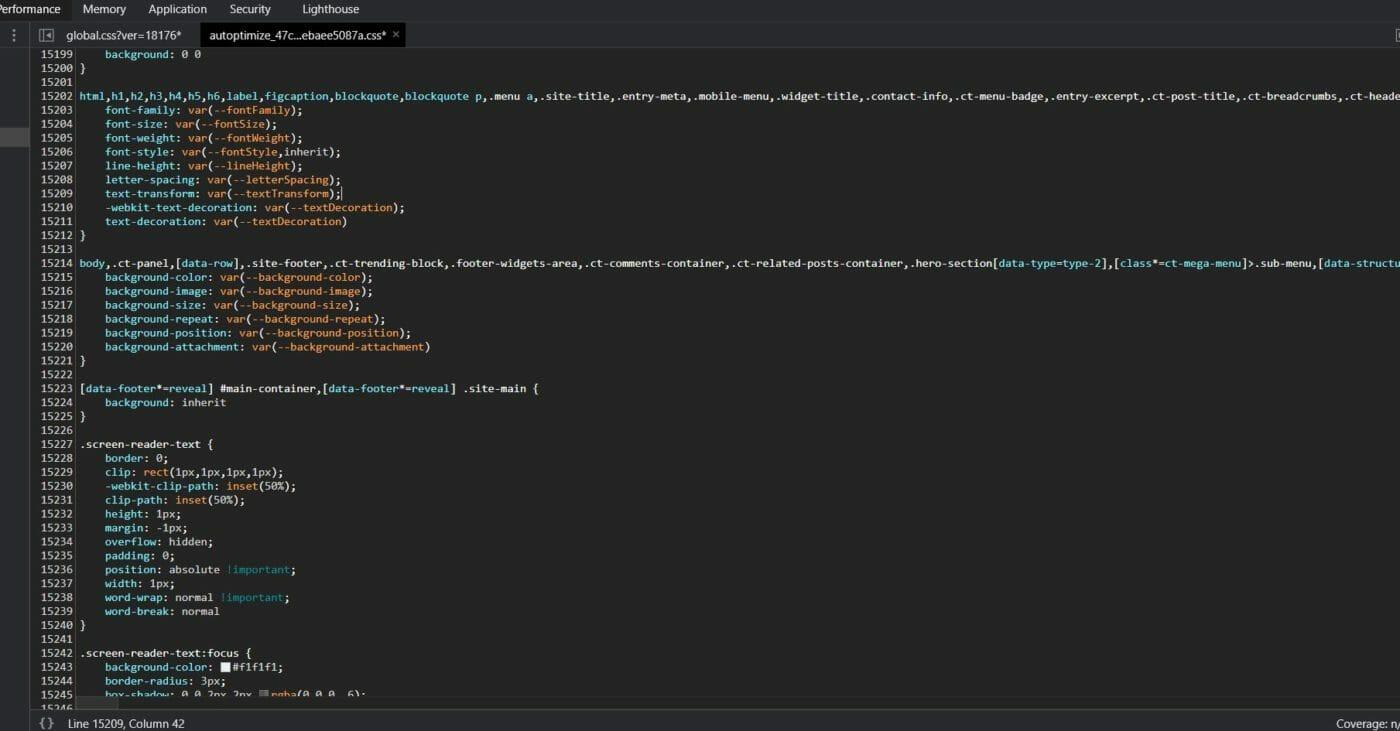 Blocksy Theme CSS Variablen