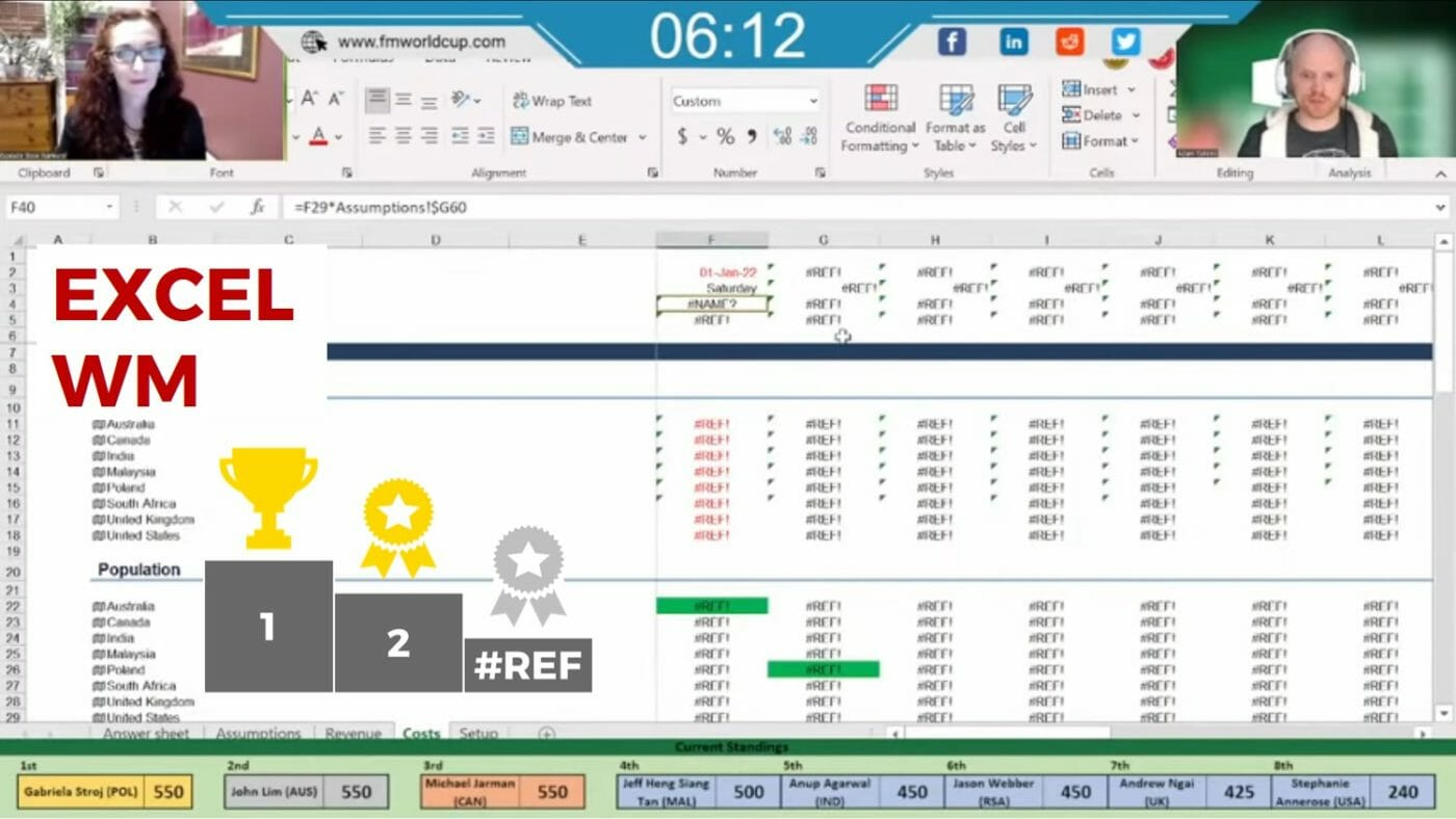 Excel WM