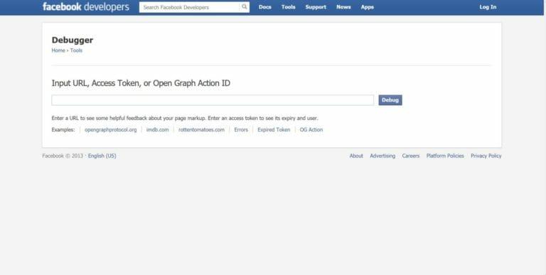 Facebook Debugger for og attributes