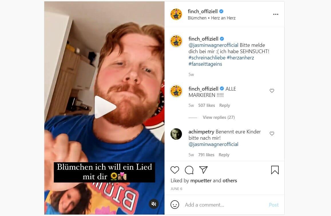 Finch x Blümchen - instagram Promo 1