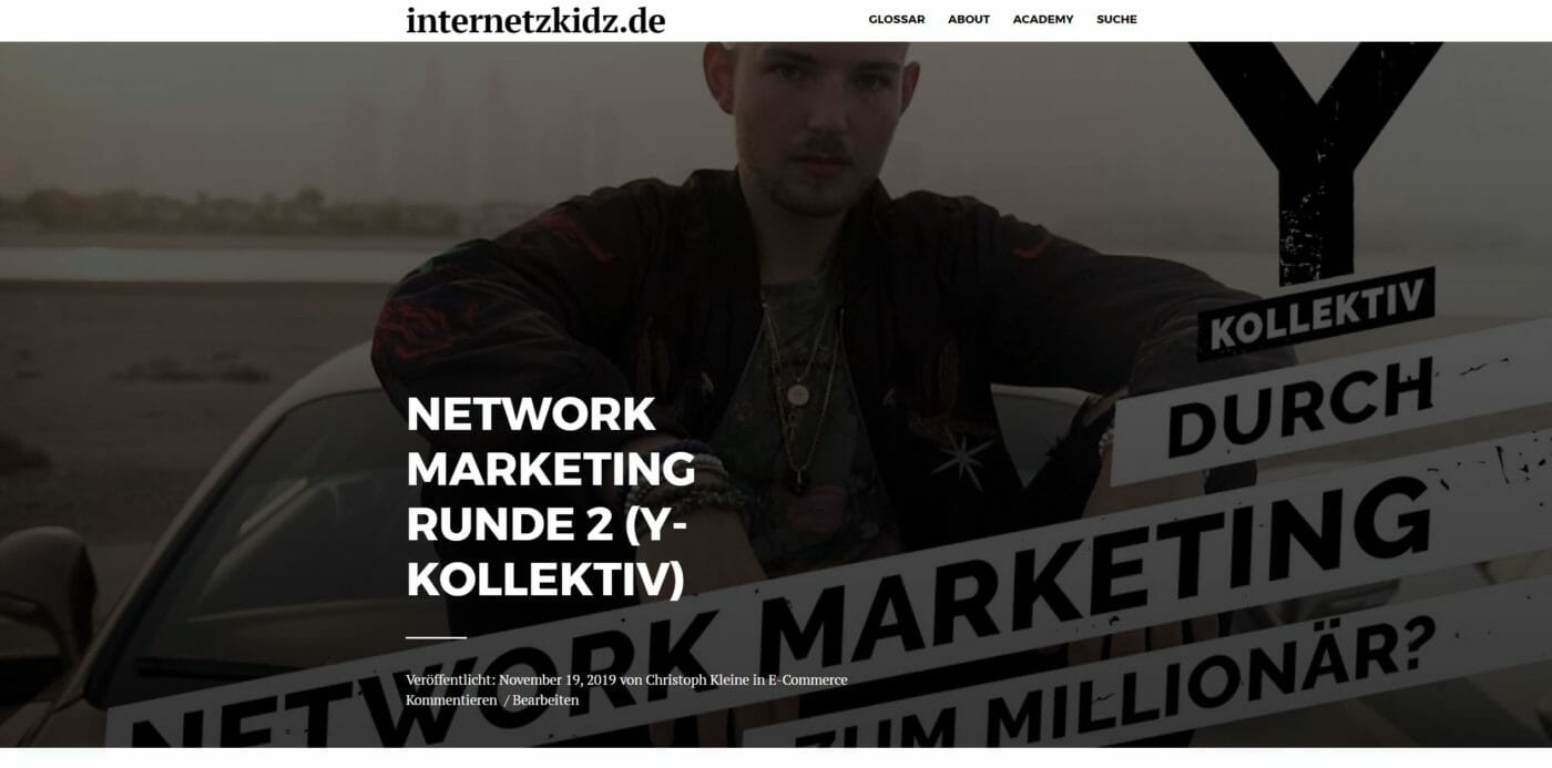 Network Marketing Artikel 2