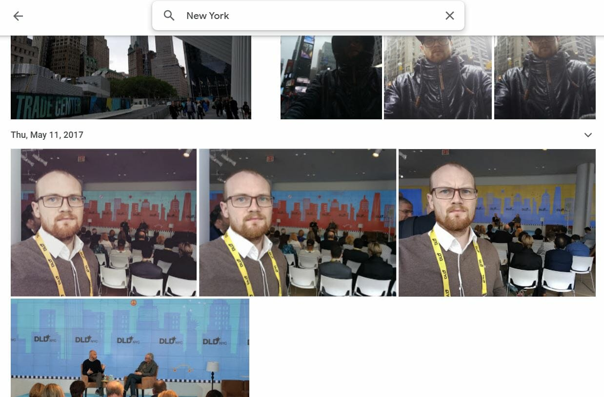Google Photos Suche Google Speichermanagement