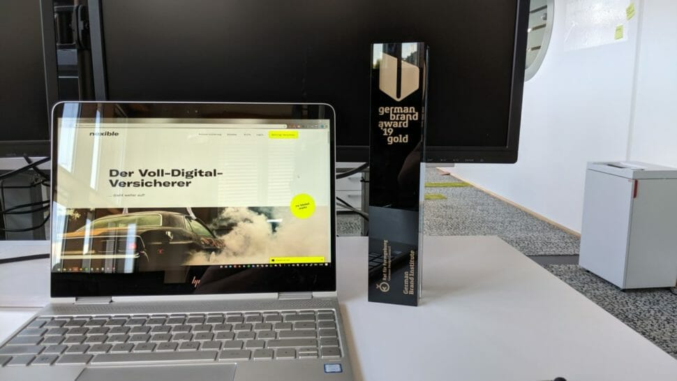 nexible gewinnt german brand award