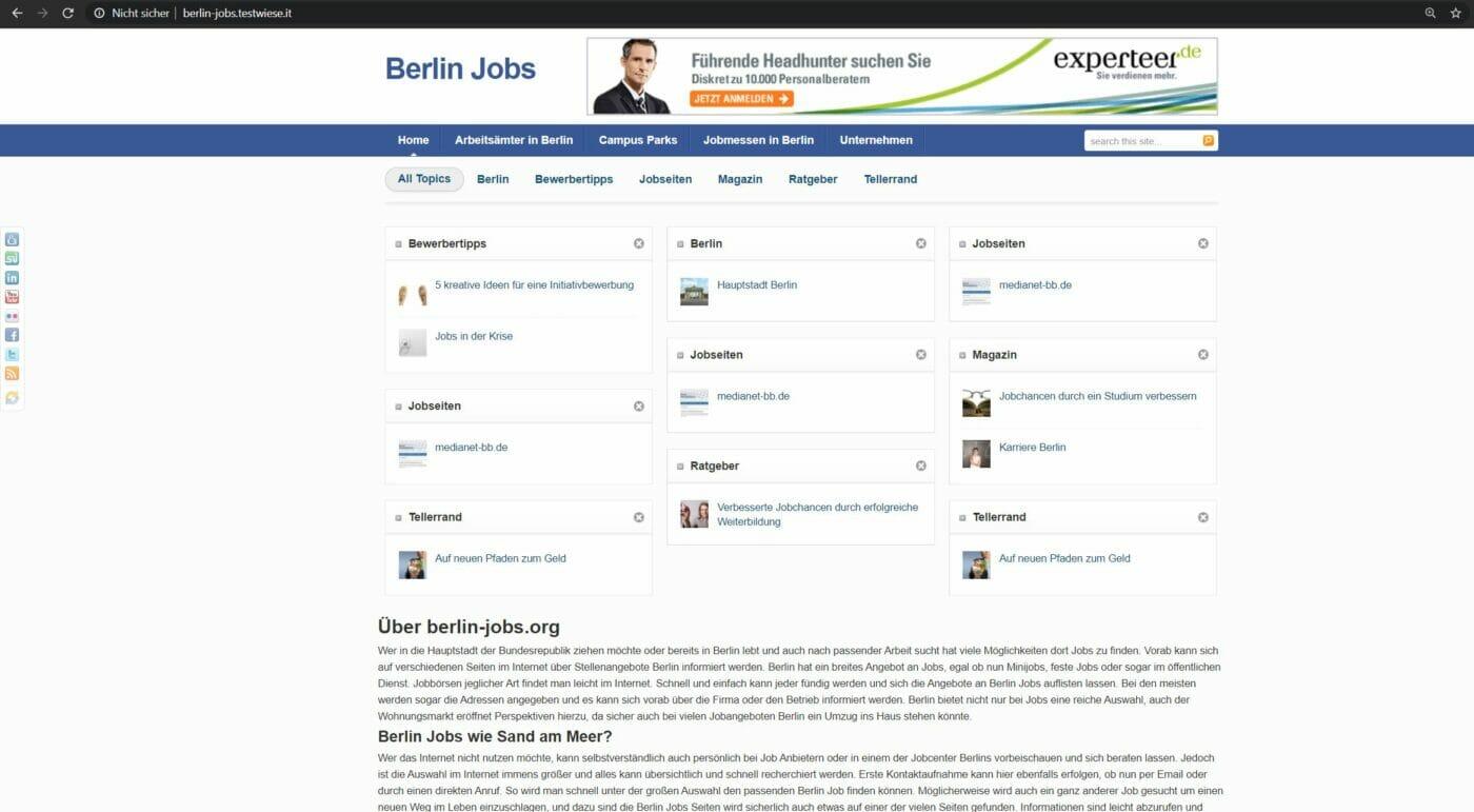 Das Berlin-Job-Portal