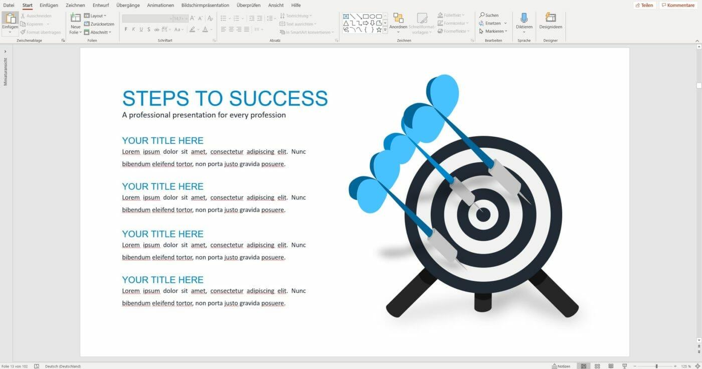 simpleslides target slides