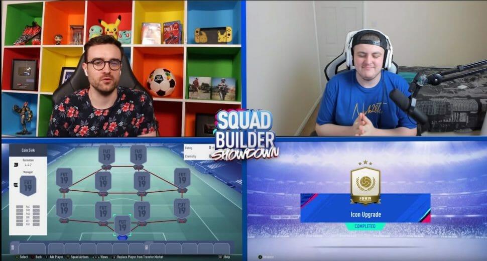Squad Builder Showdown AJ auf youtube streamen