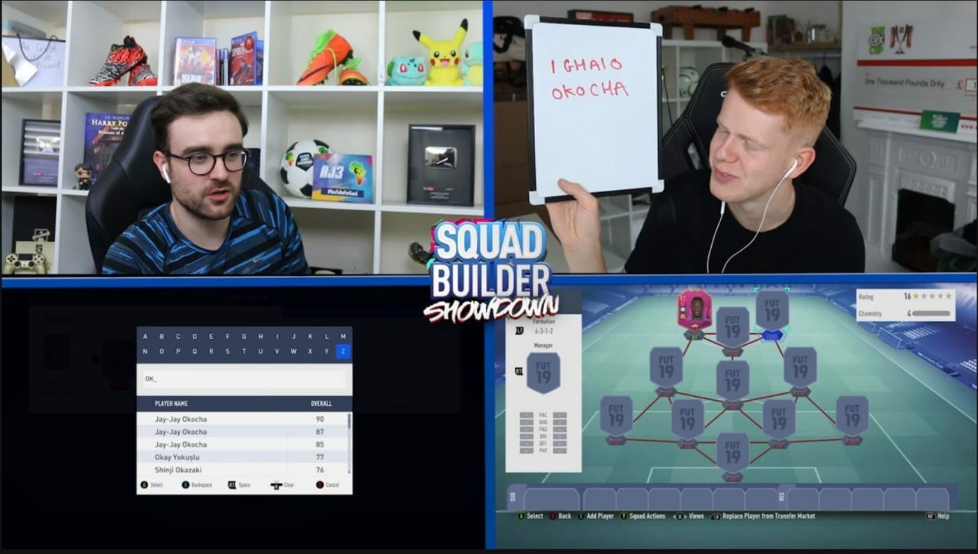 Squad Builder Showdown internetzkidz Glossar
