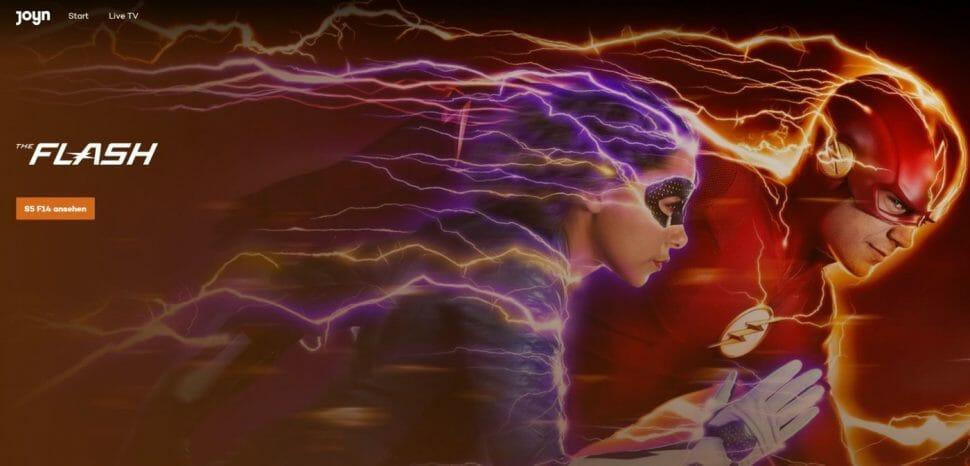 The Flash auf Joyn