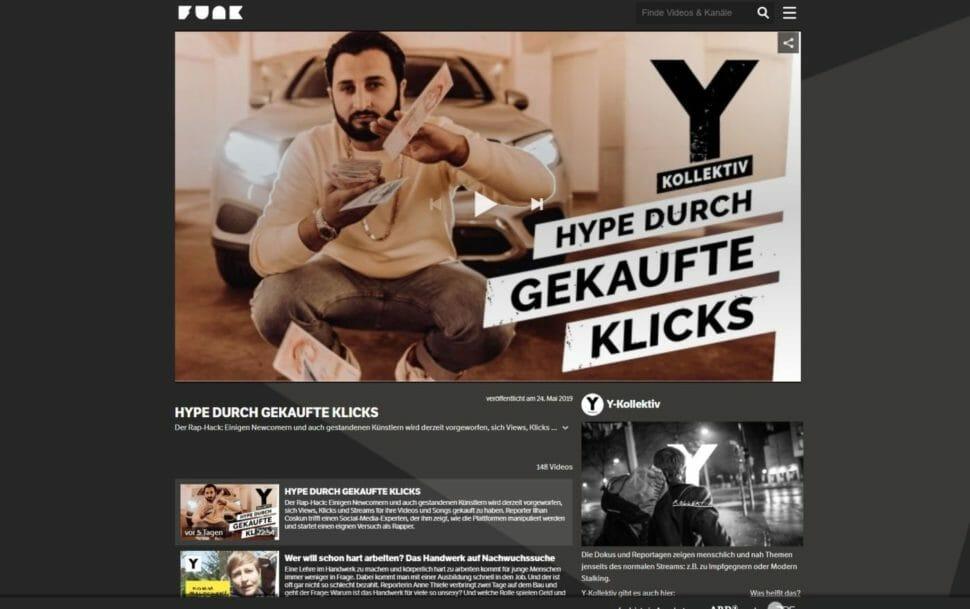 Y-Kollektiv auf funk.net